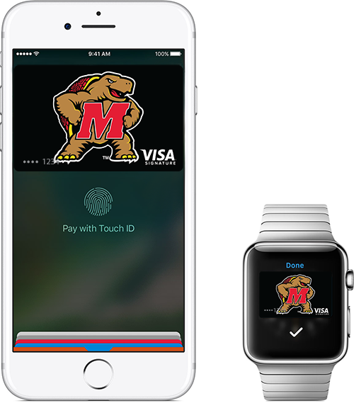 Terps Card in Apple Pay